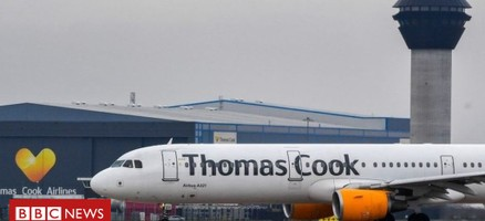 Thomas Cook collapses as rescue talks fail - BBC