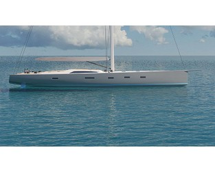 Third Southern Wind SW96 sailing yacht Ammonite under construction - Superyacht Times