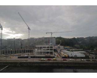 Fire hits £120m Tolent Milburngate site - Construction Enquirer