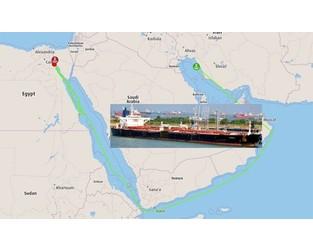 UAE Suezmax tanker with Iranian oil seized by Egypt demanding $56 mil - FleetMon