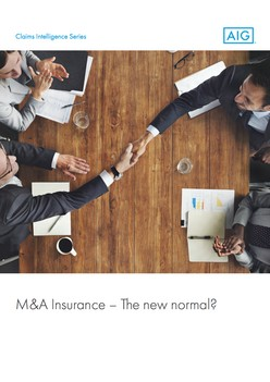 M&A Insurance – The new normal? - Representations & Warranties (International) Version