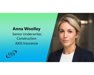Anna Woolley Joins AXIS Insurance International Construction Team as Senior Underwriter