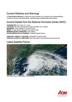 Atlantic Ocean: Potential Tropical Cyclone Three