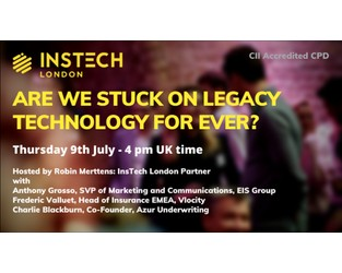 Webcast: Are We Stuck On Legacy Technology For Ever? - Bright Talk
