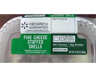 Garland Ventures LTD Voluntary Recalls Five Cheese Stuffed Shells Because of Possible Health Risk - FDA