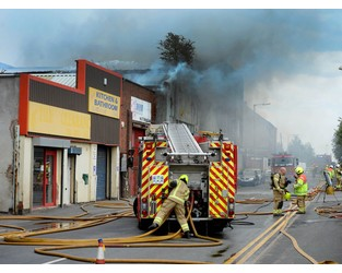 Watching brief on fire-hit Smethwick factory amid collapse fears - Express and Star