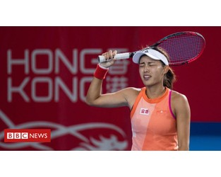 HK tennis tournament postponed due to protests - BBC