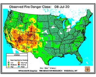 Weather Sentinel: Significant Wildfire Potential Outlook; July 2020