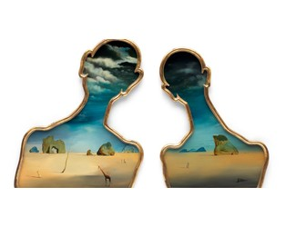 Dalí and Gala with their 'heads full of clouds' go up for sale at Bonhams - The Art Newspaper