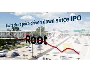 Root underwhelms in first month of trading compared to Lemonade