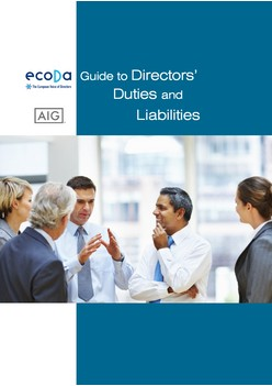 AIG: The ecoDa/AIG Guide to Directors' Duties and Liabilities