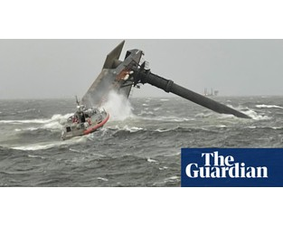 Louisiana lift vessel capsize: search continues after six rescued - The Guardian