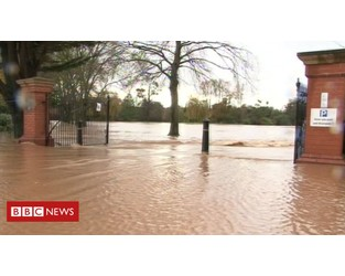 Flood defence plans costing £6m approved - BBC