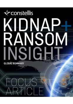 Constellis Kidnap & Ransom Insight - September 2018