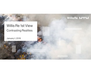 Willis Re 1st View January 2019: Contrasting Realities