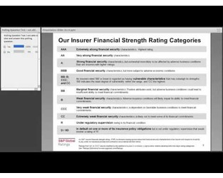 The Impact of Rating Agencies on the Insurance Industry - CIPR