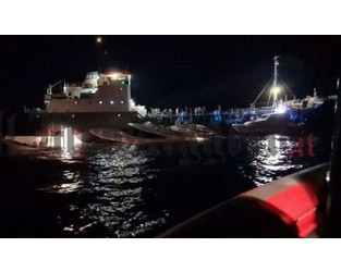 Luxury yacht partially sank after collision with tanker, Italy - FleetMon