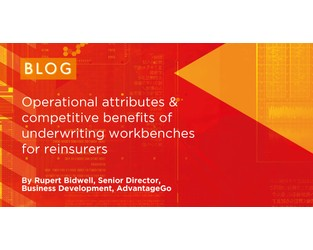 Attributes & Benefits of underwriting workbenches for Reinsurers