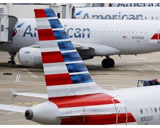 American Airlines Jet Struck Object on JFK Runway During Takeoff - Bloomberg
