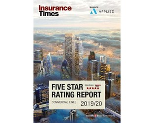 The Insurance Times Five Star Commercial Lines 2019/20 site is now live