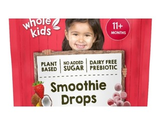 Whole Kids brand Smoothie Drops milk recalled over plastic scare - Stuff