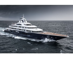 In Pictures: 112m Lürssen motor yacht TIS delivered - Superyacht Times