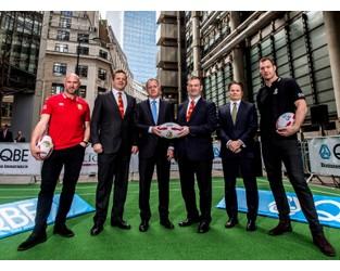 QBE join the 'Team Behind The Team' - British & Irish Lions