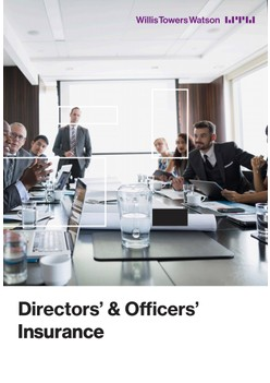 Directors' & Officers' Insurance