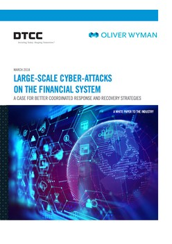 Large-Scale Cyber-Attacks On The Financial System
