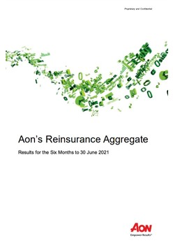 Aon's Reinsurance Aggregate - Results for the Six Months to 30 June 2021