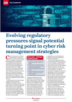 Evolving regulatory pressures signal potential turning point in cyber risk management strategies - Reactions