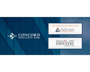 Concord Specialty Risk Receives Advisen and Industry Era Leadership Awards