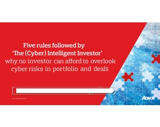 Five rules followed by 'The (Cyber) Intelligent Investor' - Ian McCaw