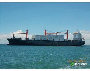 Container ship grounding, Parana - FleetMon