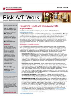 Risk A/T® Work Newsletter Special Edition (English) – Reopening Hotels and Occupancy Rate Improvement