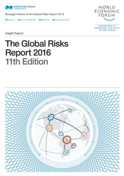 The Global Risks  Report 2016 11th Edition