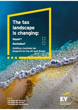 Building a business tax blueprint for the UK post-Brexit