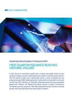Report: Catastrophe Bond Update: First Quarter 2015