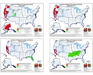 Weather Sentinel: Significant Wildfire Potential Outlook; August 2019