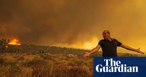 America's year of fire and tempests means climate crisis just got very real - The Guardian