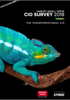 Harvey Nash/ KPMG CIO Survey 2018: The Transformational CIO