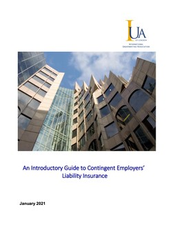 An Introductory Guide to Contingent Employers' Liability Insurance