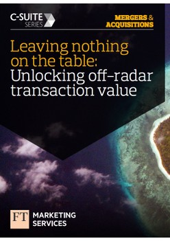 Leaving nothing on the table: Unlocking off-radar transaction value