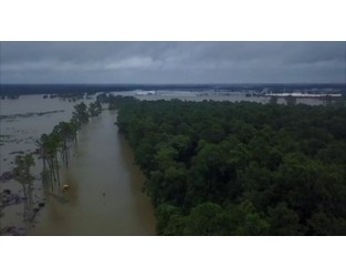 Crawford & Company Catastrophe Services: Drone footage of Hurricane Harvey
