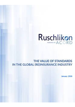 The Value of Standards in the Global (Re)Insurance Industry