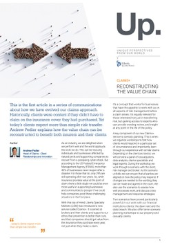 Reconstructing the value chain