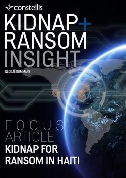 Constellis Kidnap & Ransom Insight - January 2021