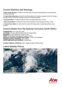 Impact Forecasting Cat Alert: Tropical Storm Elsa