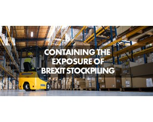 Containing the exposure of Brexit stockpiling