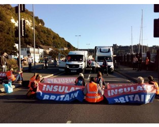 Port of Dover blocked by climate protestors - CityAM